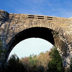 Acadia N.P., ME. Duck Brook Bridge Carriage Roads