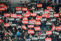 Supporters Lyon - 14.03.2015 - Lyon OU / Toulon -  20eme journee de Top 14<br /> Photo : Jean Paul Thomas  / Icon Sport<br /> <br />   *** Local Caption ***