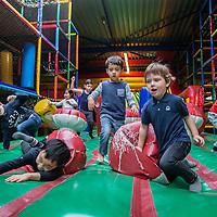 Nederland, Amsterdam, 15 januari 2017.<br />Binnenspeeltuin Ballorig Gaasperplas.<br />Drie indoorspeeltuinen zijn door de Nederlandse Voedsel- en Warenautoriteit (NVWA) op de vingers getikt. De NVWA heeft afgelopen jaar landelijk 37 speelhallen gecontroleerd. Bij 90 procent was iets niet in orde.<br />Bij binnenspeeltuin Ballorig was overigens niks mis.<br />VOORKEURFOTO!<br /><br /><br /><br /><br /><br />Foto: Jean-Pierre Jans