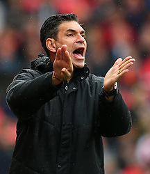 Southampton manager Mauricio Pellegrino gestures - Mandatory by-line: Matt McNulty/JMP - 30/09/2017 - FOOTBALL - Bet365 Stadium - Stoke-on-Trent, England - Stoke City v Southampton - Premier League