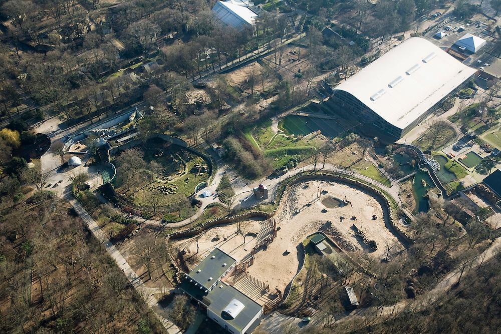 Nederland, Utrecht, Rhenen, 11-02-2008; .Ouwehands dierenpark, zoo, attractiepark, dierentuin, speeltuin en avonturenpark..luchtfoto (toeslag); aerial photo (additional fee required); .foto Siebe Swart / photo Siebe Swart.