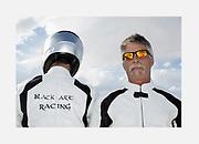 Image of Bonneville Salt Flats racers in Wendover, Utah, American Southwest by Randy Wells