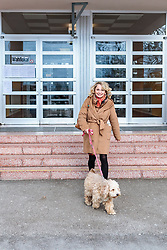 25.02.2018, Neue Mittelschule, Lienz, AUT, Landtagswahl in Tirol 2018, Stimmabgabe, im Bild Spitzenkandidatin Elisabeth Blanik (SPOe) // after voting for the State election in Tyrol 2018. Neue Mittelschule in Lienz, Austria on 2018/02/25. EXPA Pictures © 2018, PhotoCredit: EXPA/ JFK