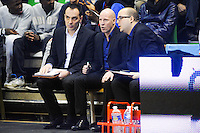 Guillaume BAC / Eric BARTECHEKY / Mathieu LEMERCIER  - 29.12.2014 - Lyon Villeurbanne / Le Havre - 16e journee Pro A<br />