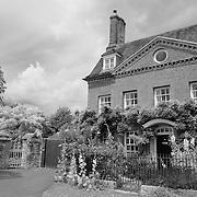 Georgian Home With Garden - Salisbury, UK - Black & White