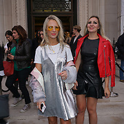 London, England, UK. 17th September 2017.Naomi Isted (L)attends FASHION SCOUT SS18 Day 3 at Freemasons Hall.