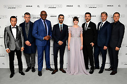 The cast of (left-right) Donnie Yen, Ben Mendelsohn, Forest Whitaker, Riz Ahmed, Felicity Jones, Diego Luna, Mads Mikkelsen and Alan Tudyk attending a special screening of Rogue One: A Star Wars Story at the BFI IMAX, London. PRESS ASSOCIATION Photo. Picture date: Tuesday December 13, 2016. See PA story SHOWBIZ Rogue One. Photo credit should read: Ian West/PA Wire