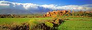 MOROCCO, HIGH ATLAS MOUNTAINS Kasbah of Telouet, south of Marrakech