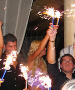 **EXCLUSIVE**.Tara Reid.Billionaire Nightclub.Porto Cervo, Sardinia.Thursday, August, 05, 2004.Photo By Celebrityvibe.com.To license this image please call (212) 410 5354; or.Email: sales@celebrityvibe.com ;.Website: www.celebrityvibe.com..