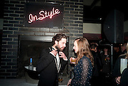 JACK GUINNESS; LOU HAYTER, InStyle Best Of British Talent , Shoreditch House, Ebor Street, London, E1 6AW, 26 January 2011