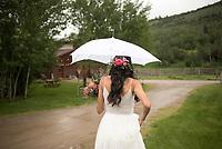 Teton Valley wedding - Monica Schwartz and George Josten