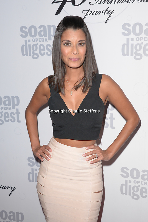 ANDREA DREPAUL at Soap Opera Digest's 40th Anniversary party at The Argyle Hollywood in Los Angeles, California