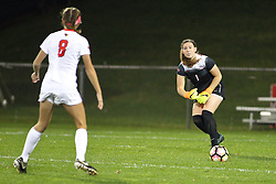 04 November 2016:  Haley Smith during an NCAA Missouri Valley Conference (MVC) Championship series women's semi-final soccer game between the Indiana State Sycamores and the Illinois State Redbirds on Adelaide Street Field in Normal IL