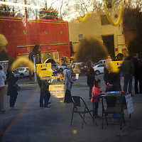VALLEY FORGE, PA - November 8, 2016.  Voters line up in and outside of the Valley Forge Volunteer Fire Department polling station at 7am when doors opened in Valley Forge, Pennsvylania November 8, 2016.  The suburban Philadelphia county, Pennsylvania's wealthiest, voted for Obama by 9% in 2008, and for Romney with less than 1% in 2012.  CREDIT: Mark Makela for The New York Times     NYTELX