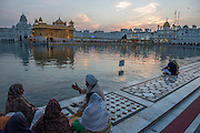 Sri Harmandir Sahib.<br /> The Golden Temple is a gurdwara located in the city of Amritsar, Punjab, India. It is the preeminent spiritual site of Sikhism. The gurdwara is built around a man-made pool that was completed by the fourth Sikh Guru, Guru Ram Das, in 1577.