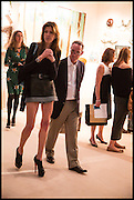 LARA ROSS; BRUCE EICHNER, Masterpiece London 2014 Preview. The Royal Hospital, Chelsea. London. 25 June 2014.