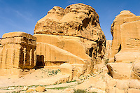 Petra is Jordan's most visited tourist attraction. Close to the visitor centre.