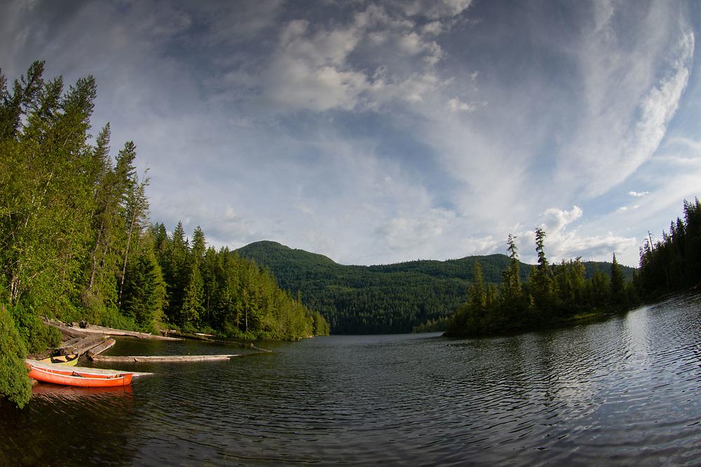 Waugh Lake, Sunshine Coast, British Columbia, Canada