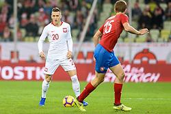 November 15, 2018 - Gdansk, Poland, PIOTR ZIELINSKI from Poland during football friendly match between Poland - Czech Republic at the Stadion Energa in Gdansk, Poland