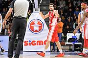 DESCRIZIONE : Campionato 2014/15 Serie A Beko Dinamo Banco di Sardegna Sassari - Giorgio Tesi Group Pistoia<br /> GIOCATORE : Ariel Filloy<br /> CATEGORIA : Mani Curiosità<br /> SQUADRA : Giorgio Tesi Group Pistoia<br /> EVENTO : LegaBasket Serie A Beko 2014/2015 <br /> GARA : Dinamo Banco di Sardegna Sassari - Giorgio Tesi Group Pistoia<br /> DATA : 01/02/2015 <br /> SPORT : Pallacanestro <br /> AUTORE : Agenzia Ciamillo-Castoria/C.Atzori <br /> Galleria : LegaBasket Serie A Beko 2014/2015