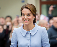 The Dutchess of Cambridge visited The Mauritshuis, The Hague 11-10-2016