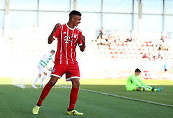 FC Bayern Munich Oliver Batista Meier celebrates scoring his side's third goal of the game