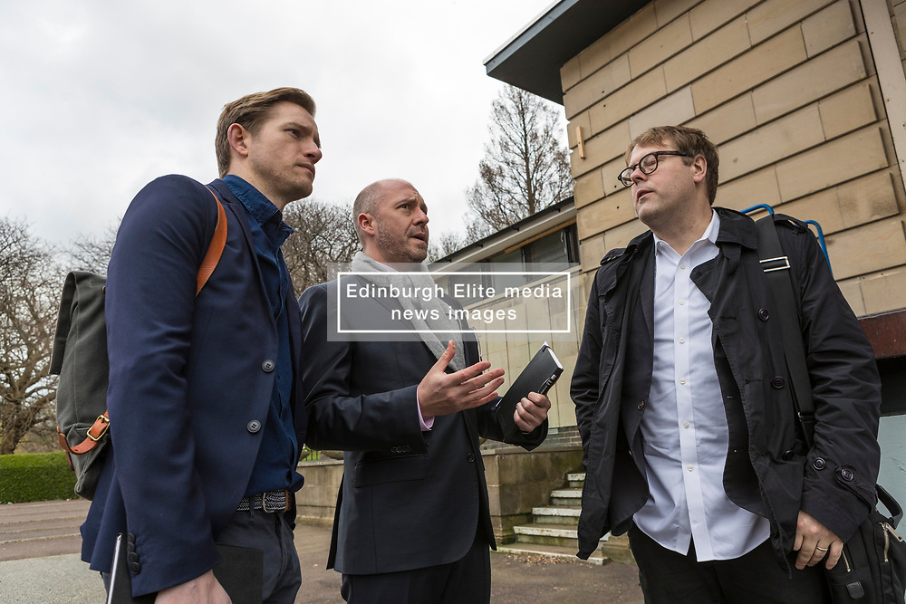 International architects fly in to Edinburgh for their first sight of West Princes Street Gardens as they compete to design a new venue to replace the Ross Bandstand.<br /> <br /> Chair Norman Springford and Project Manager David Ellis from the Ross Development Trust provide visiting teams with a tour of the Gardens and existing Bandstand site.<br /> <br /> A competition to replace the Ross Bandstand in the heart of Edinburgh's West Princes Street Gardens with a new landmark Pavilion has received worldwide interest from architects and designers.<br /> <br /> Entries from 125 teams spanning 22 countries and made of 400 individual firms have been narrowed down to seven finalists. <br /> <br /> The seven finalists will be invited to create concept designs for the £25m project brief, which includes a new landmark venue to replace the bandstand, a visitor centre and subtle updates to West Princes Street Gardens.<br /> <br /> Each of the finalist teams will be led by the following architects:<br /> <br /> - Adjaye Associates (UK)<br /> - BIG Bjarke Ingels Group (Denmark)<br /> - Flanagan Lawrence (UK)<br /> - Page \ Park Architects (UK)<br /> - Reiulf Ramstad Arkitekter (Norway)<br /> - wHY (USA)<br /> - William Matthews Associates (UK) and Sou Fujimoto Architects (Japan)