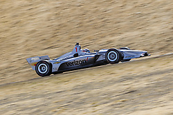 September 14, 2018 - Sonoma, California, United Stated - JOSEF NEWGARDEN (1) of the United States takes to the track to practice for the Indycar Grand Prix of Sonoma at Sonoma Raceway in Sonoma, California. (Credit Image: © Justin R. Noe Asp Inc/ASP via ZUMA Wire)