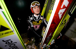 Michael Uhrmann (GER) during Trial round of the FIS Ski Jumping World Cup event of the 58th Four Hills ski jumping tournament, on January 6, 2010 in Bischofshofen, Austria. (Photo by Vid Ponikvar / Sportida)