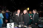 PETER SIMON; LORD FOSTER, Damien Hirst, Tate Modern: dinner. 2 April 2012.