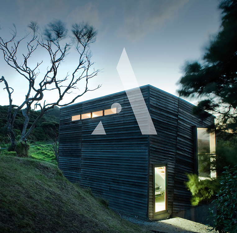 Wishart house, new zealand, hokianga, rewi thomson, architecture, maori