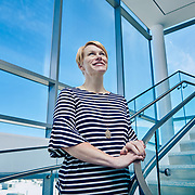 Portrait of Kendra Johnson a Sanofi employee.  Photography was done at the Framingham site.