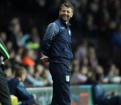 Aston Villa Manager, Tim Sherwood smiles - Photo mandatory by-line: Robbie Stephenson/JMP - Mobile: 07966 386802 - 07/04/2015 - SPORT - Football - Birmingham - Villa Park - Aston Villa v Queens Park Rangers - Barclays Premier League