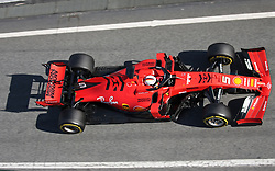 February 26, 2019 - Barcelona, Catalonia, Spain - the Ferrari of Sebastian Vettel during the Formula 1 test in Barcelona, on 26th February 2019, in Barcelona, Spain. (Credit Image: © Joan Valls/NurPhoto via ZUMA Press)