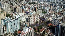 Foto aérea da Av. Independência, 1053. FOTO: Jefferson Bernardes/ Agência Preview