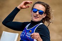 25-08-2018 NED: DELA Beach NK Volleyball, Scheveningen<br /> Sophie van Gestel NED #1