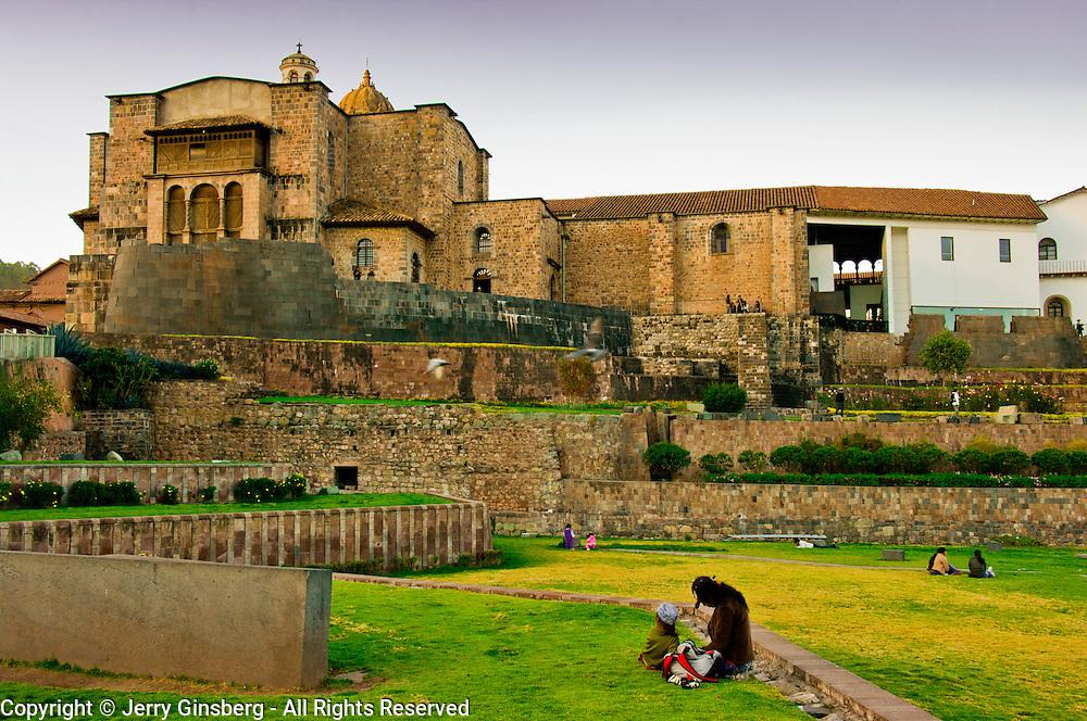 Dominican Basilica in Cuzco - Cusco, Peru.