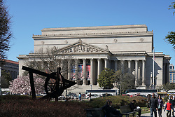 The Archives of the United States building in Washington DC in the United States. From a series of travel photos in the United States. Photo date: Saturday, March 31, 2018. Photo credit should read: Richard Gray/EMPICS