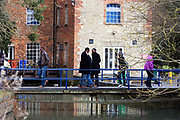 Students cross the bridge in front of the Old Tanalaw Mill building. The University of Buckingham is unique. It is the only independent university in the UK with a Royal Charter, and probably the smallest with just around 1000 students. Honours degrees are achieved in two intensive years of study. The University campus is well known for being one of the most attractive locations in the region. The Great Ouse river, home to much wildlife, winds through the heart of our campus. Much of our teaching takes place in our restored buildings. Each student mixes with 89 other different nationalities and so being at Buckingham is just like being in a mini global village.