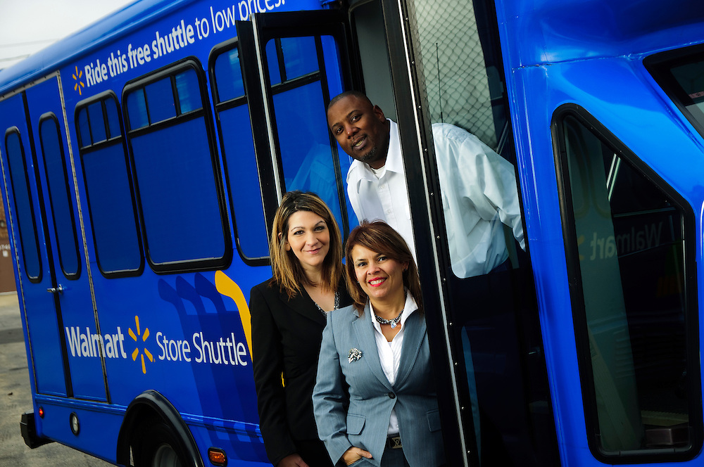 Letty Hudson is President and CEO of Chicago Mini Bus Travel in Rosemont, IL. Her company is recently contracted with WalMart to shuttle customers directly to their Chicago-area stores.