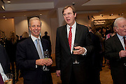 ROBERT BROOKS;-  Bonhams Auction house hosts festive drinks to preview the first phase of the reconstruction of its Mayfair Headquarters - due for completion in 2013.<br /> Bonhams, 101 New Bond Street, London, 19 December 2011.