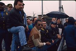 Teamsters Local 707 truckers strike, New York, 06/04/1994