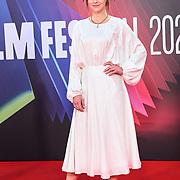 Fuchsia Fuschia Sumner attended King Richard | BFI London Film Festival 2021, 15 October 2021 Southbank Centre, Royal Festival Hall, London, UK.