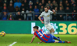March 5, 2018 - London, United Kingdom - Manchester United's Juan Mata.during the Premiership League  match between Crystal Palace and Manchester United at Selhurst Park Stadium in London, England on 05 March 2018. (Credit Image: © Kieran Galvin/NurPhoto via ZUMA Press)