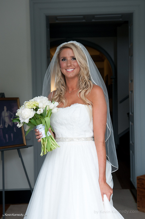 Lauren Upton <br /> Modeling Gown for Mary's Bridal <br /> William Paca House