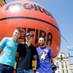 20140525: SLO, Basketball - 2014 FIBA World Cup Spain Trophy Tour, day 3