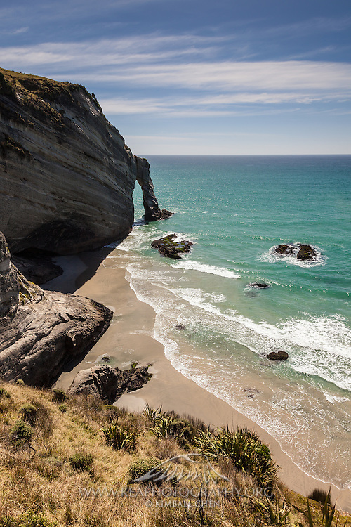 Cape Farewell, the most northerly point of South Island, New Zealand