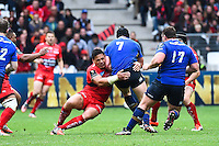 Chris Masoe / Sean O'Brien - 19.04.2015 - Toulon / Leinster - 1/2Finale European Champions Cup -Marseille<br /> Photo : Andre Delon / Icon Sport