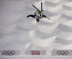 February 9, 2018 - Pyeongchang, South Korea - 180209 Rohan Chapman Davies of Australia compete in the Men's Moguls Qualification during the 2018 Winter Olympics on February 9, 2018 in Pyeongchang..Photo: Petter Arvidson / BILDBYRÃ…N / kod PA / 91956 (Credit Image: © Petter Arvidson/Bildbyran via ZUMA Press)