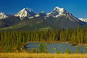 caneoing down the Kootenay River<br />Kootenay National Park<br />British Columbia<br />Canada